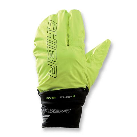 Zimní rukavice s integrovanou pláštěnkou CHIBA EXPRESS + černé ... 63ff2664c4