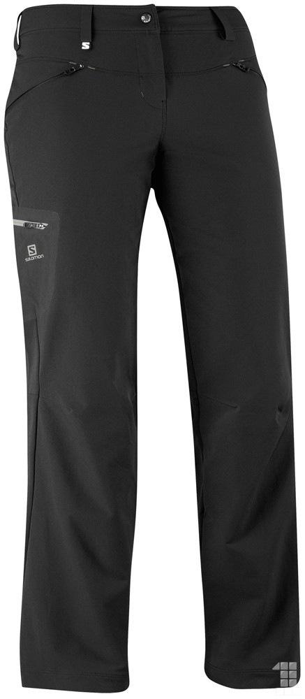 879fbfe26c1 kalhoty Salomon Wayfarer winter W black 13 14