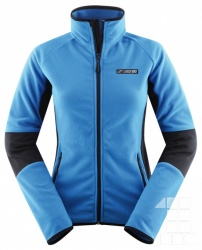 mikina HANNAH POWERJET LADY Brilliant blue/anthracite