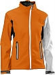 bunda SAL.Active Softshell W orange/white