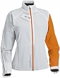 bunda SAL.Momentum Softshell W white/orange