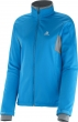 bunda Salomon Active Softshell W methyl blue 14/15