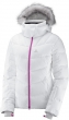 bunda Salomon Icetown W white/heather 17/18