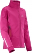 bunda Salomon Momentum Softshell JR pink 16/17