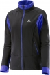 bunda Salomon Momentum Softshell W black/violet 16/17