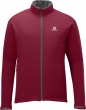 bunda Salomon Nova Softshell M victory red 13/14