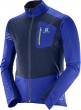 bunda Salomon RS softshell M surf the web/blue 17/18