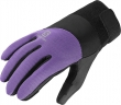 rukavice Salomon Thermo W black/violet 14/15