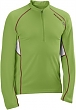 triko SAL.Trail Runner LS Zip M green